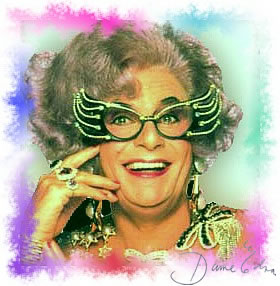 CLICK HERE TO LEARN ABOUT DAME EDNA