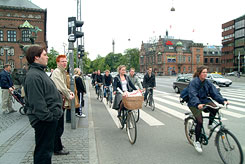 [Traffic in Copenhagen]