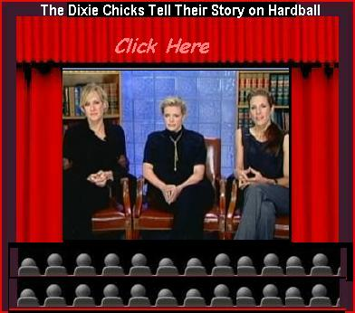 Click Here to Hear The Dixie Chicks Tell Their Story About Media Control