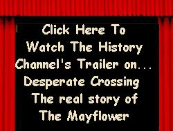 DESPARATE CROSSING the real story of the Mayflower